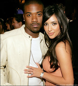 Kim Kardashian and RayJay