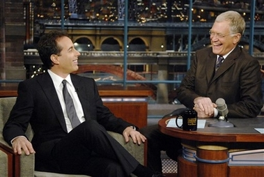 Seinfeld and Letterman