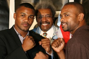 Roy Jones Jr. and Tito Trinidad
