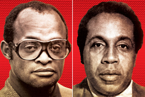 Nicky Barnes and Frank Lucas