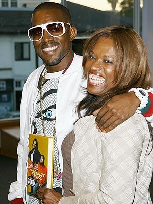 Kanye and hismom