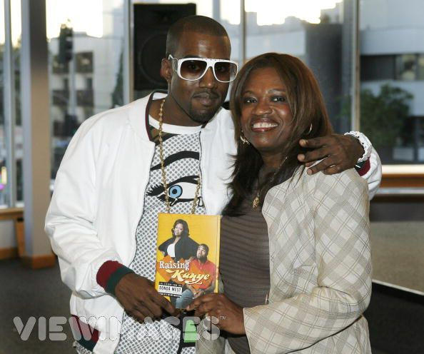 Kanye West and Dr.Donda West