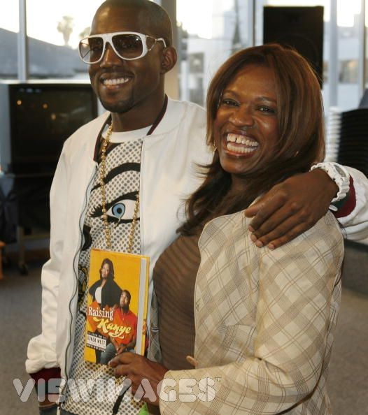 Kanye West and hismom