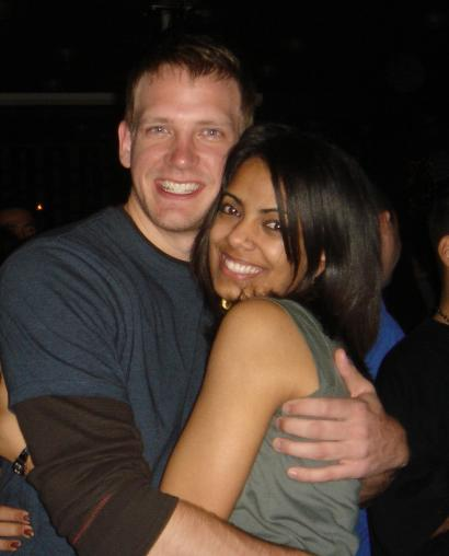 Alan Corey and Sadia Perveen