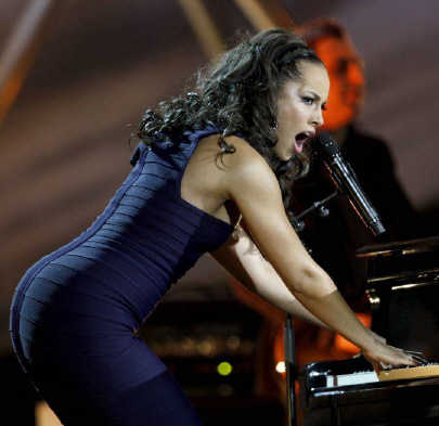 Alicia keys sexy ass pics