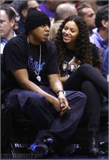 Beyonce and Jay