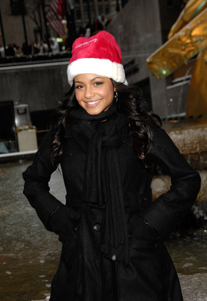 """Christina Milian attended ABC Family's """"25 Days of Christmas ..."""