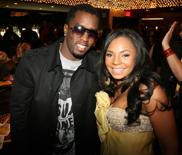 Diddy and Ashanti