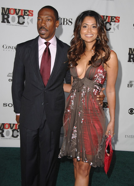 Eddie Murphy and Tracey Edmunds