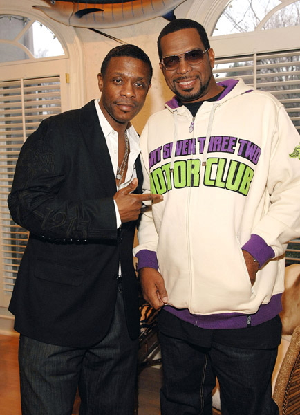 Keith Sweat and Uncle Luke