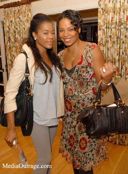 Sanaa Lathan and Golden Brooks