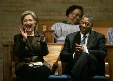 Hillary Clinton and BobJohnson