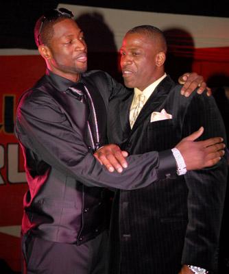 Dwayne Wad and Hisdad