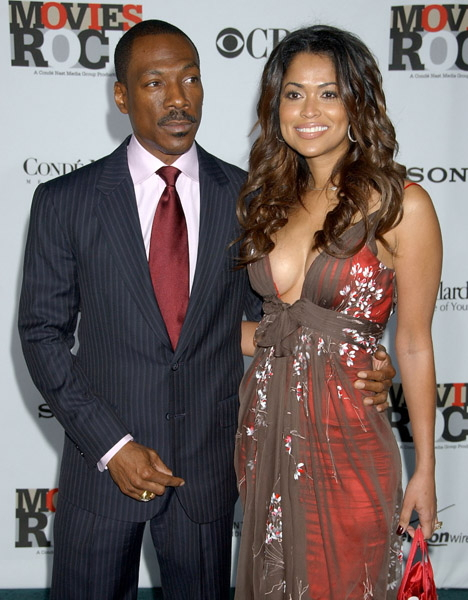 Eddie Murphy and Tracee Edmonds