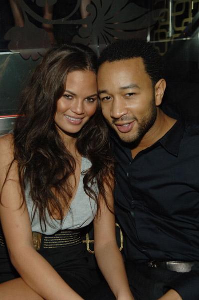 John Legend and ChristineTiegen