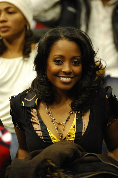 Keshia Knight Pulliam Curled Hair