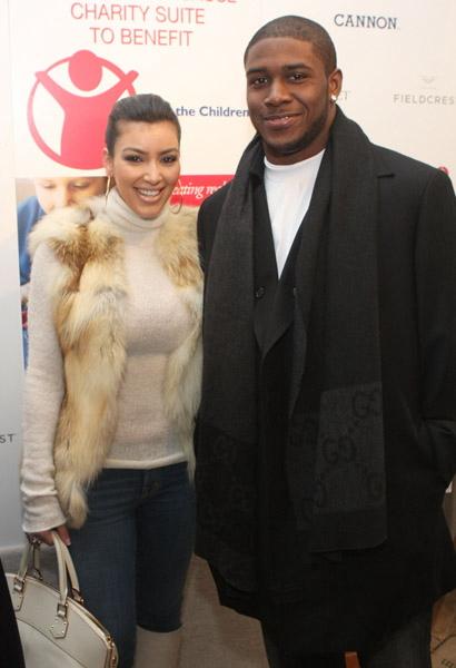 Kim Kardashian and ReggieBush