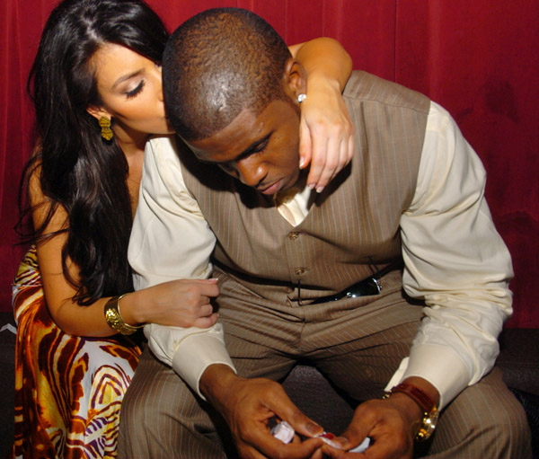 reggie bush new girlfriend carmen. esquire video, Kim