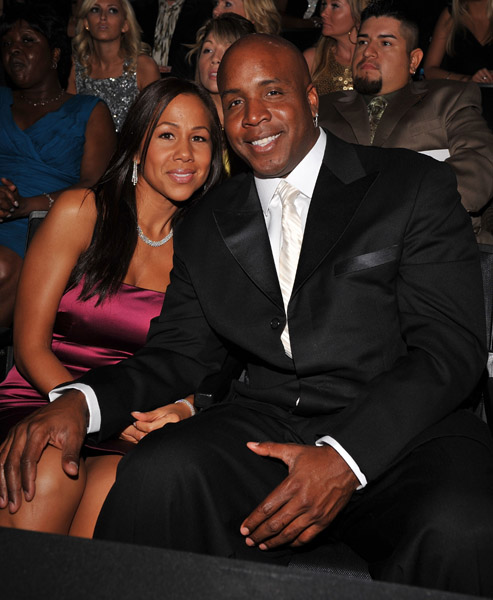 Barry Bonds and wife