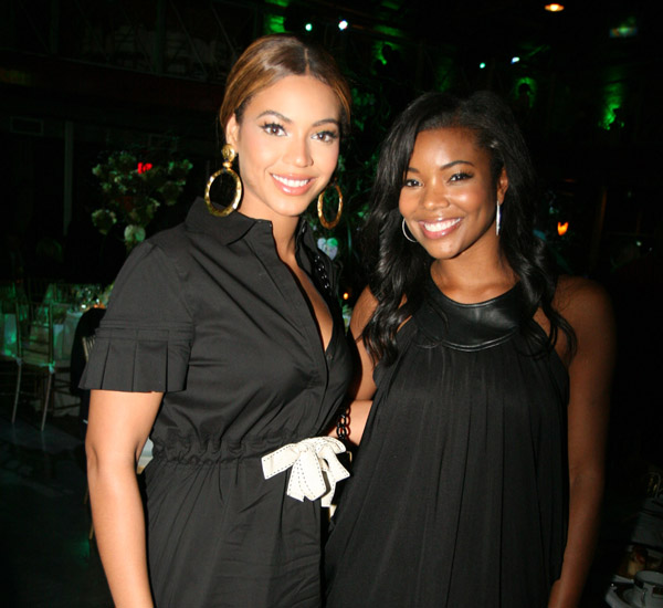 Beyonce and GabrielleUnion