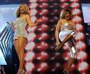 Beyonce and TinaTurner