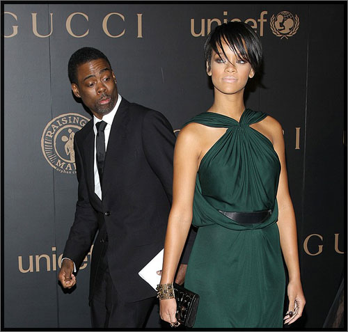 Chris Rock and Rihanna