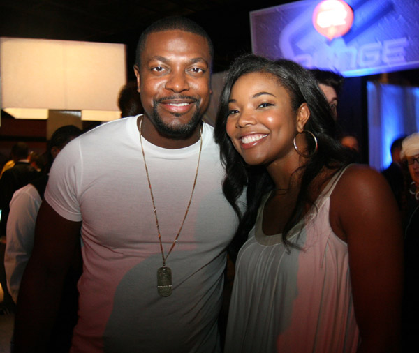 Chris Tucker and Gabrielle Union