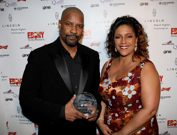 Denzel and Linda Johnson