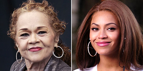 Etta James and Beyonce