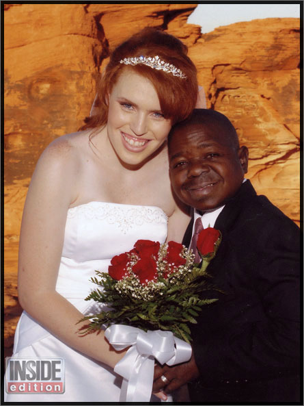 Gary Coleman and wife