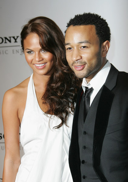 John Legend and his girl