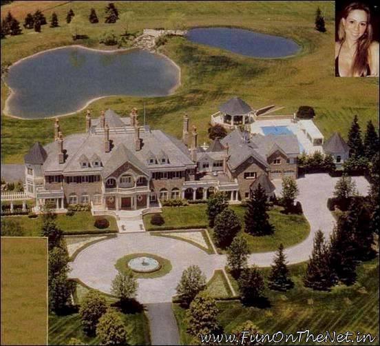 Celebrity Mansions Oprah Will Smith Mariah Carey Michael Jordan