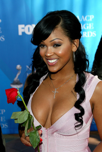 Young Girls And Celebrities Cleavages Hot Cleavage Picture Of Megan Good
