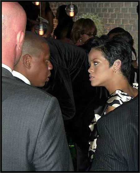 Rihanna and Jay