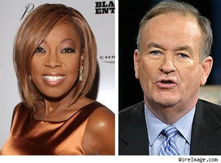 Star Jones and Bill O'Reilly
