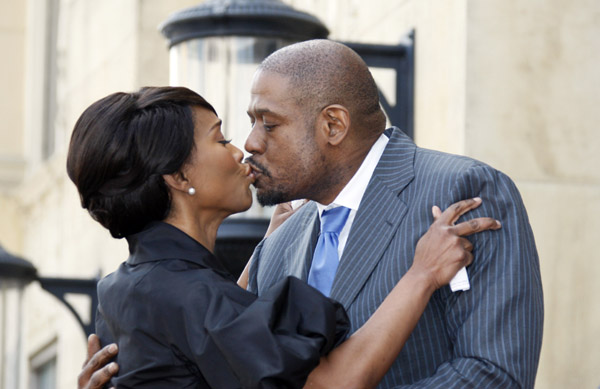 Angela Bassett and Forest Whitaker