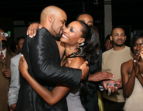 Boris Kodjoe and Cynthia Bailey