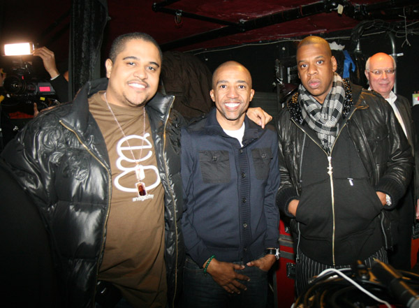 Irv Gotti Kevin Liles and Jay-Z