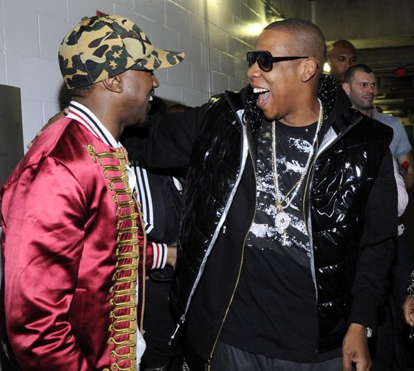 Kanye and Jay