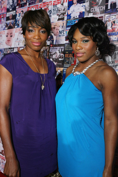 Venus and Serena