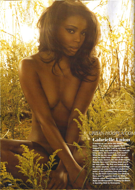 Jill Scott and Gabrielle Union posed nude for Allure Magazine. We