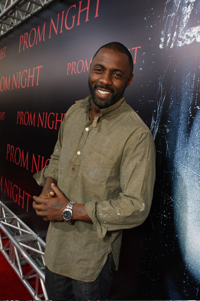 idris elba married. Actor Idris Elba attended the