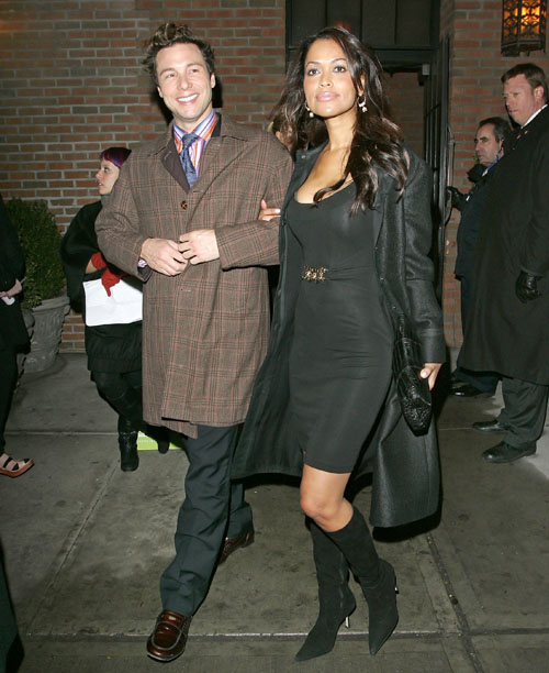 Tracey Edmonds and Rocco DiSpirito