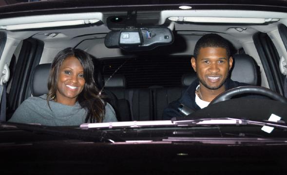 Usher andTameka