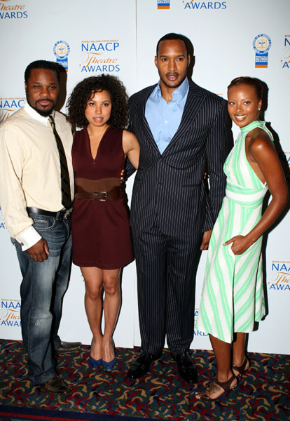 Malcolm Jamal Warner, Journee Smollett, Henry Simmons, and ...