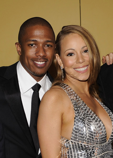 Nick Cannon and new wife Mariah Carey made their first