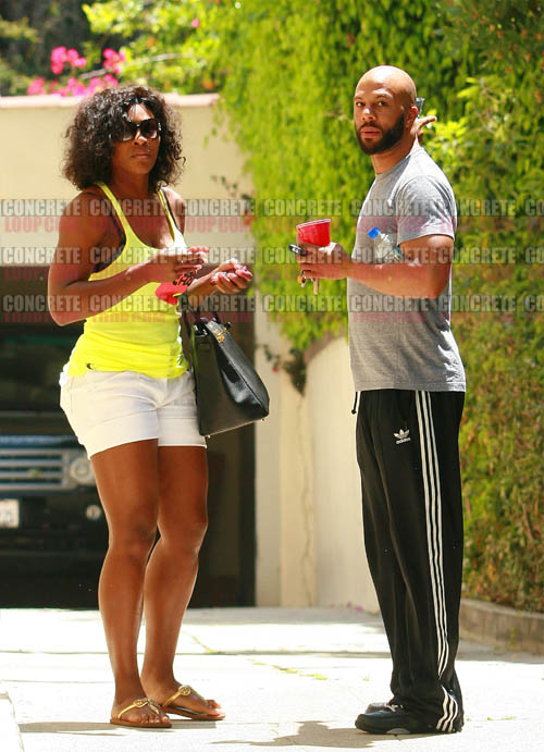 Common dating hip-hop and not Serena Williams