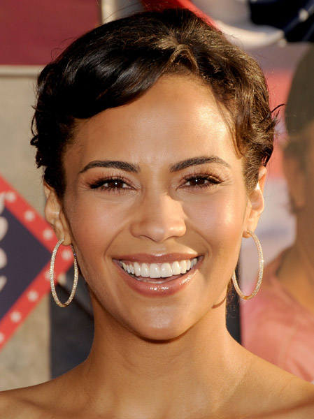 mario lopez bares all. Actress Paula Patton who ares