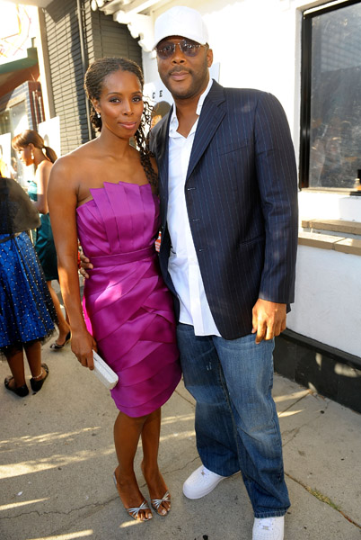 Tyler Perry. keeping black actors and