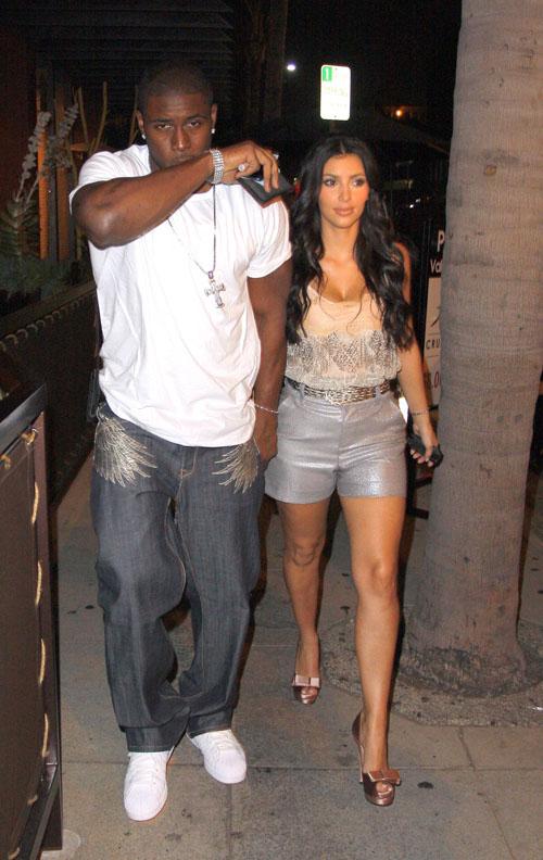 reggie bush kim kardashian relationship